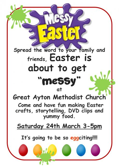 Stokesley Easter Messy Church Great Ayton