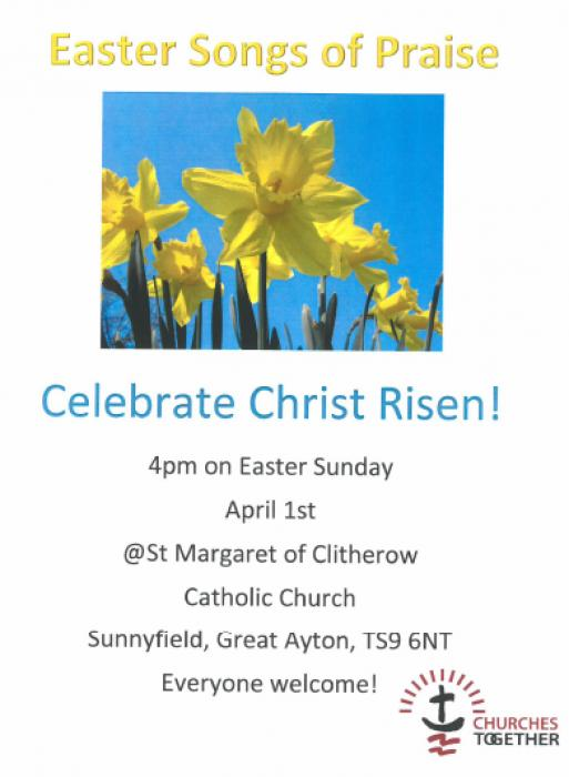 Stokesley - Easter and Holy Week Services