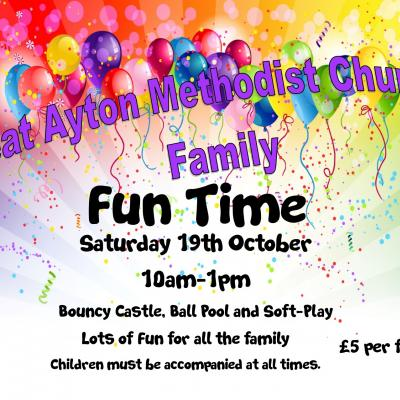 fun time leaflets October 19th 2019