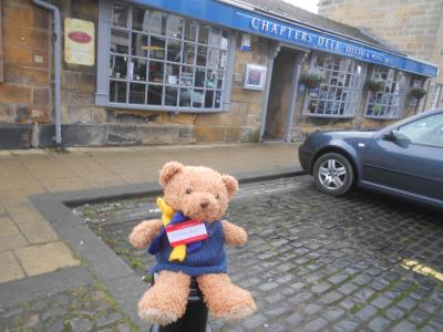 Stokesley Bear goes to lunch