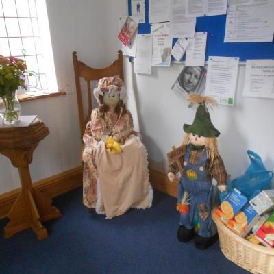 Welcoming Scarecrows
